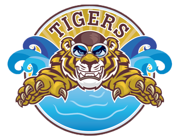 Tiiger clipart swimming #7