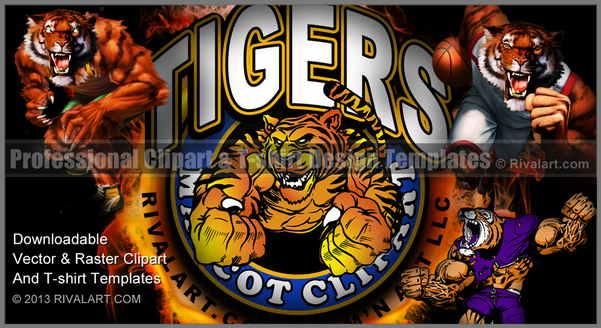 Bobcat clipart tiger claw Rivalart Clipart Tiger on Tiger