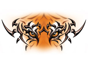 Bengal clipart tiger eyes Tiger  Clipart 306x198 Auburn