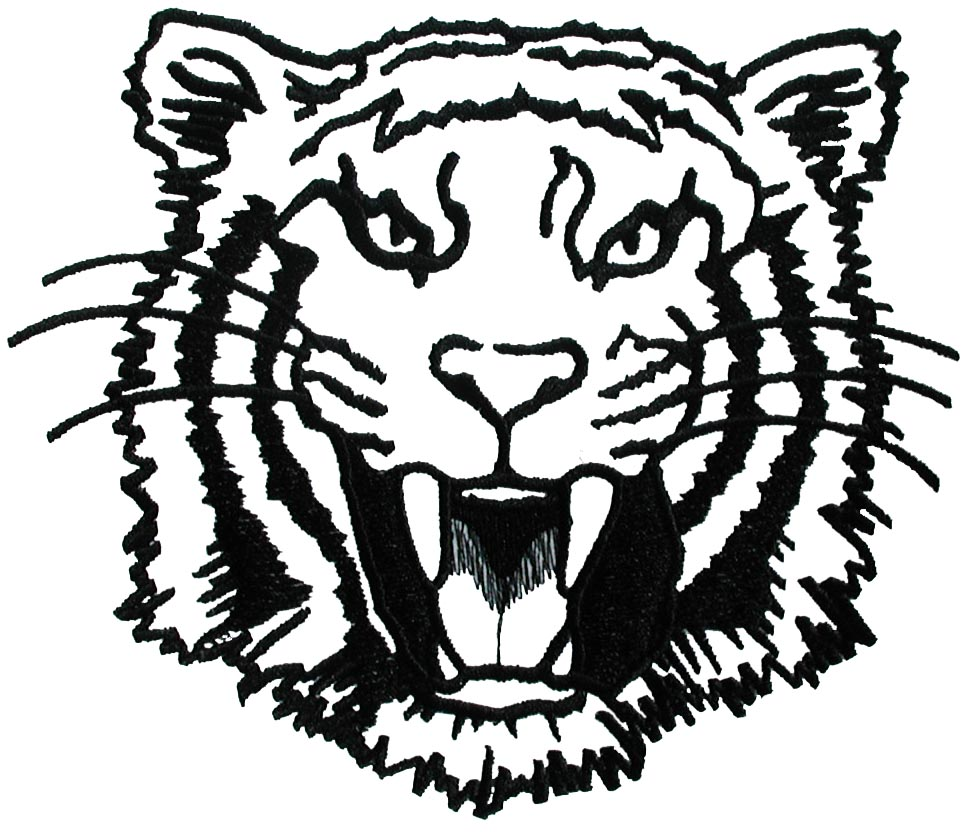 Larger clipart face Tiger Art Free Face Clip