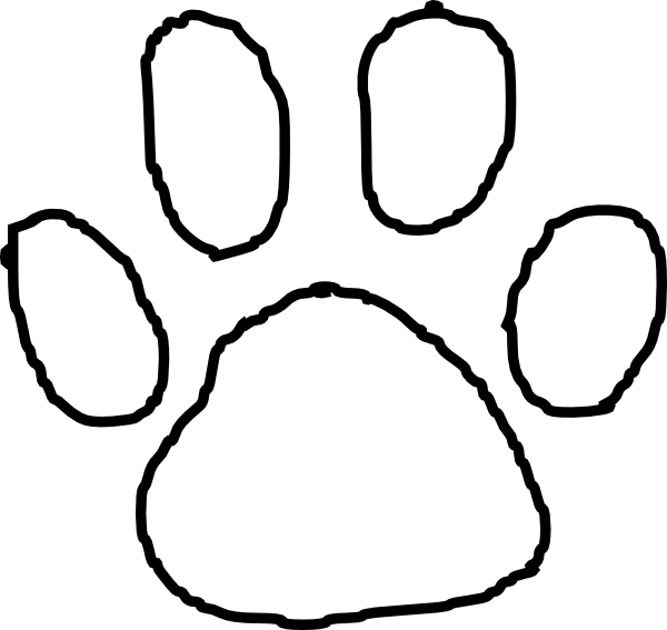 Bobcat clipart tiger paw Clip Tiger Art Free Paw