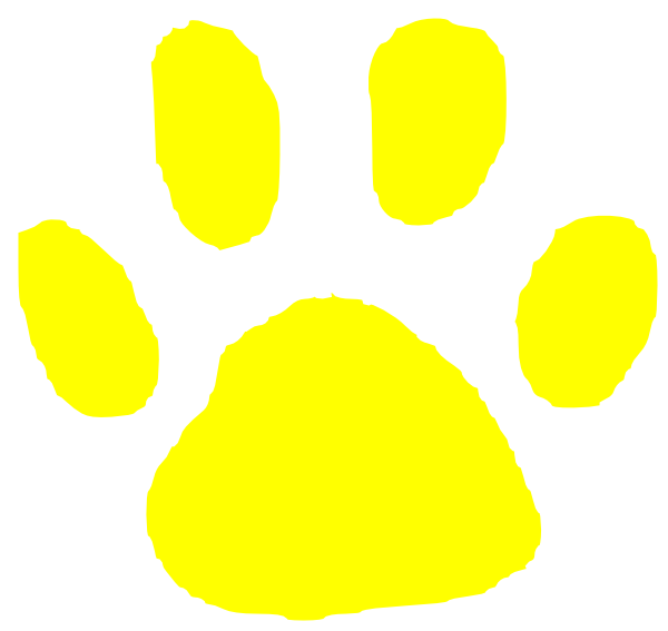 Tiger clipart yellow #14