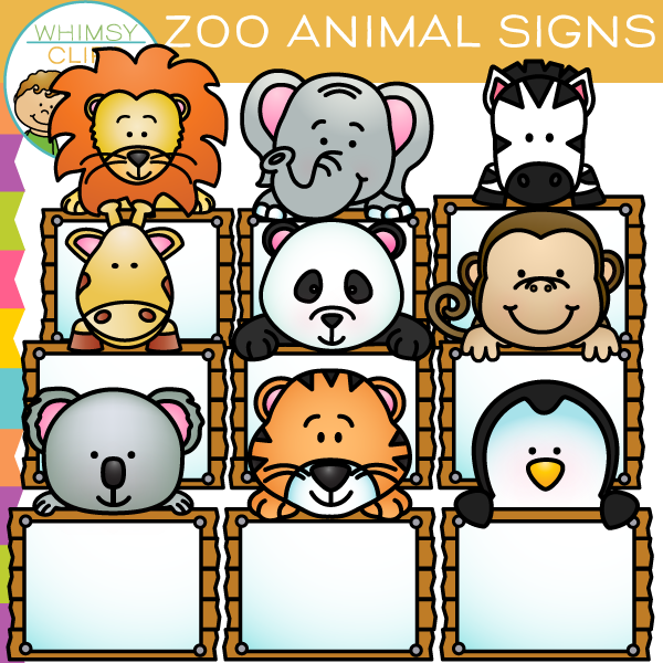 Tiiger clipart zoo animal #2