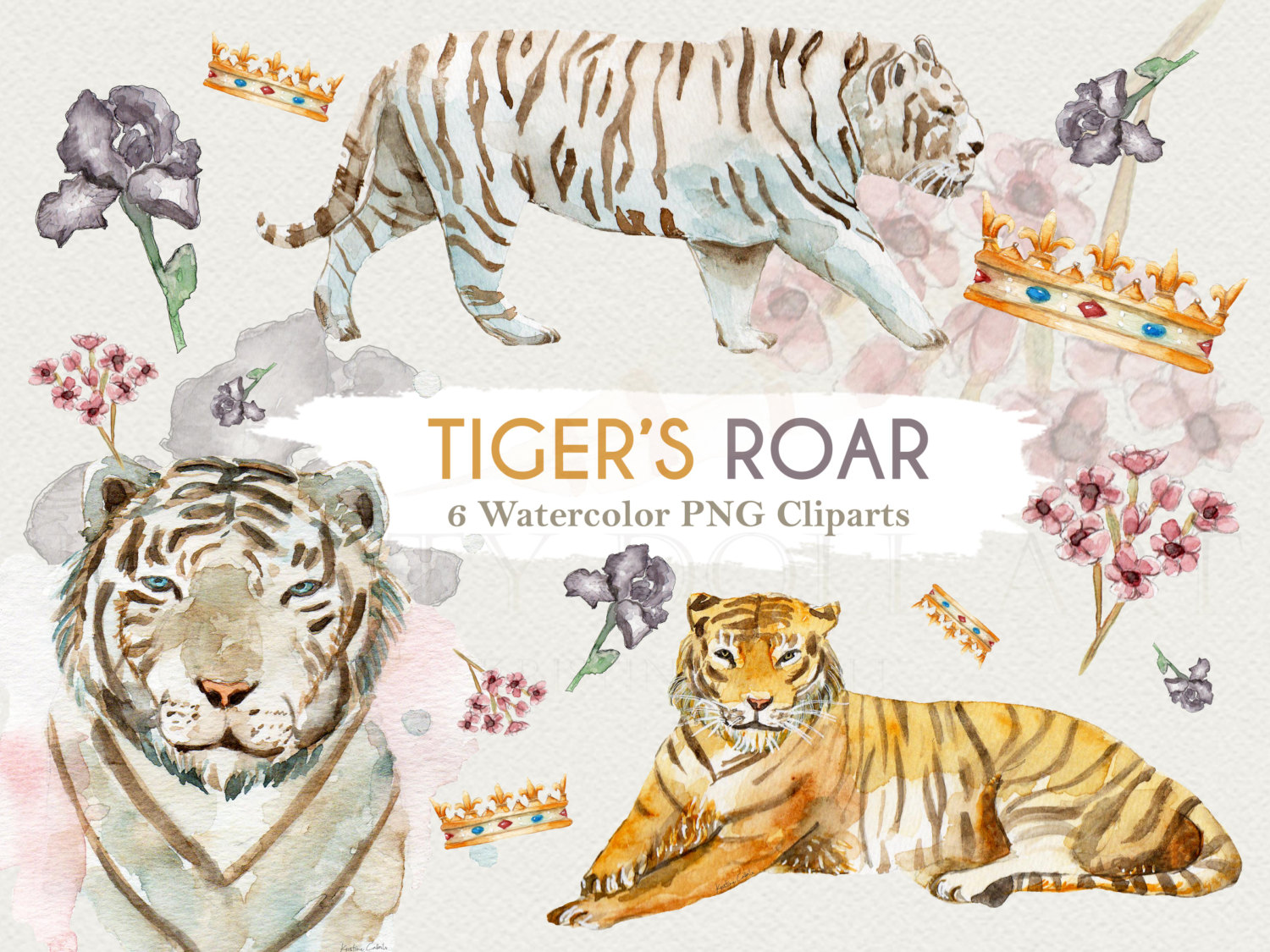 Tiiger clipart zoo animal #12