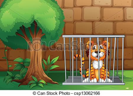 Tiiger clipart zoo animal #11