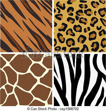 Tiger Print clipart orange Download – Clipart Tiger Clip