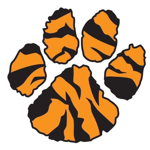 Tiger Print clipart orange Png clipart numbers Detroit clip