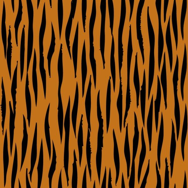 Tiger Print clipart orange On about Clipart Free pattern