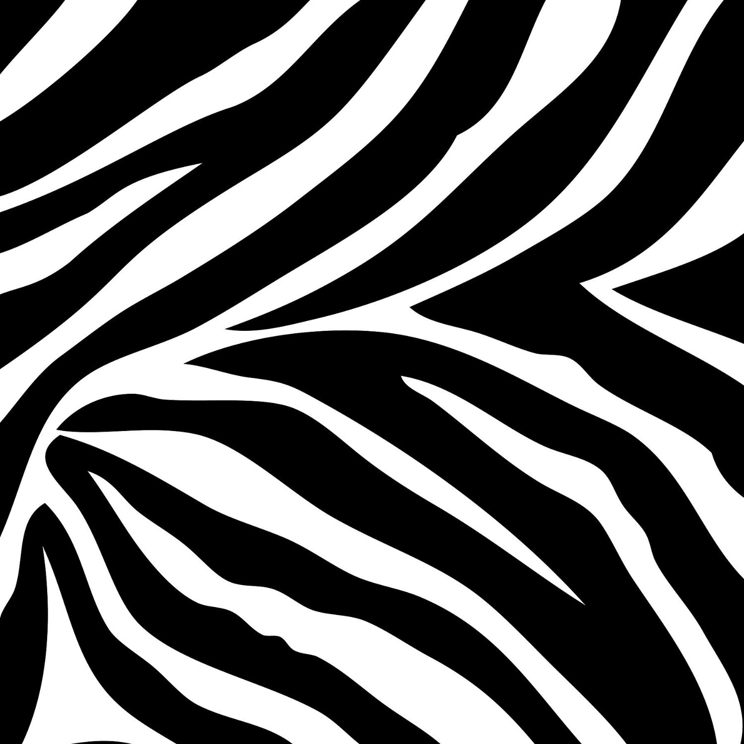 Tiger Print clipart black and white #9