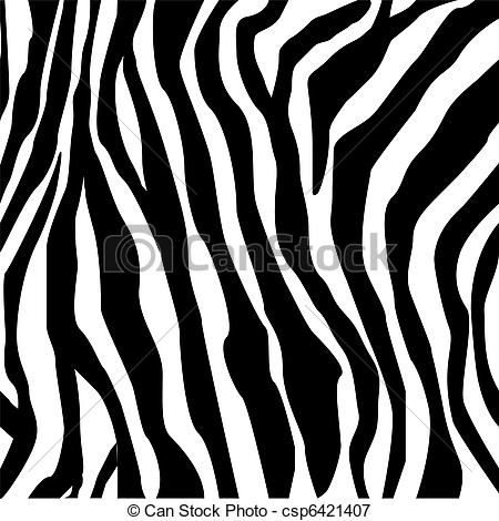 Tiger Print clipart black and white #10