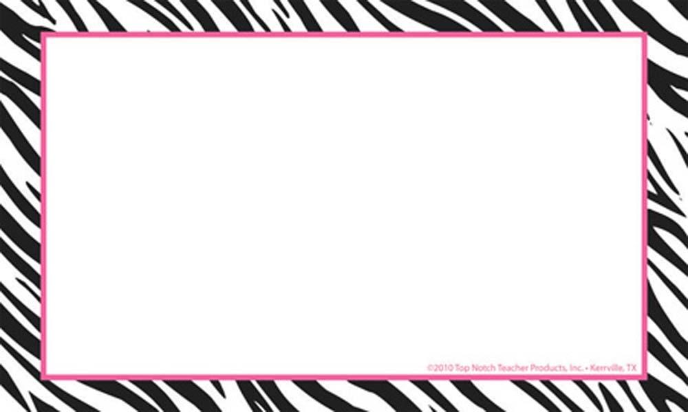 Tiger Print clipart border #4