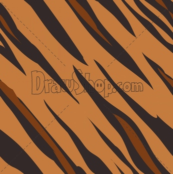 Tiger Print clipart drawing #7