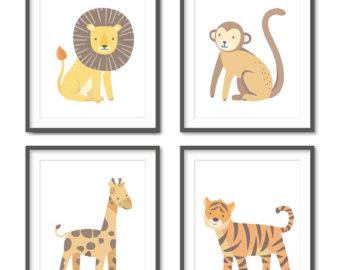 Tiger Print clipart jungle animal #12