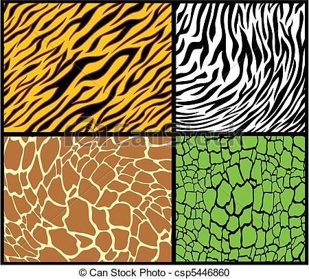 Tiger Print clipart leopard pattern #6