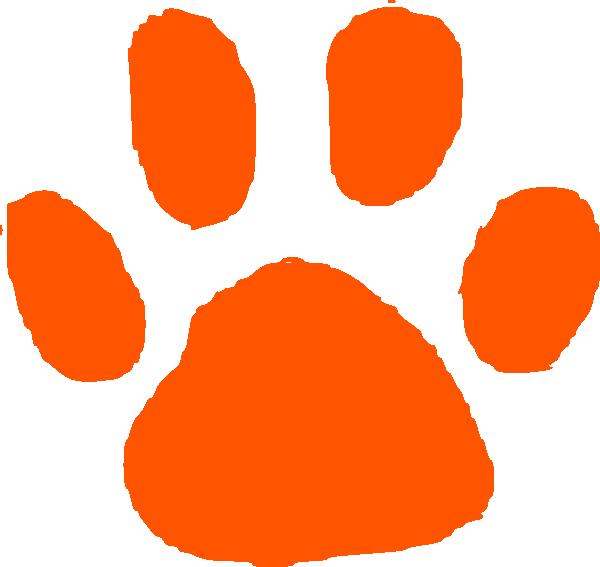 Tiger Print clipart orange Orange print Tiger Print photo#21