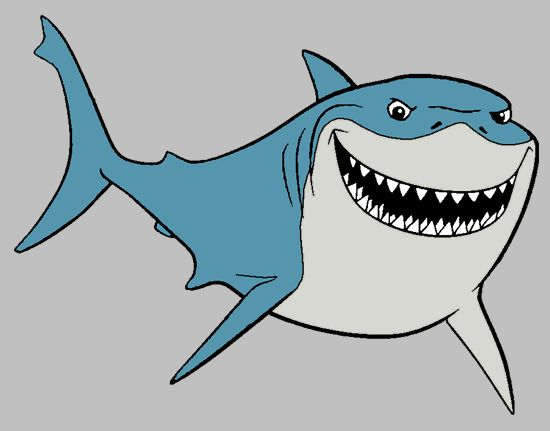 Tiger Shark clipart gills #2