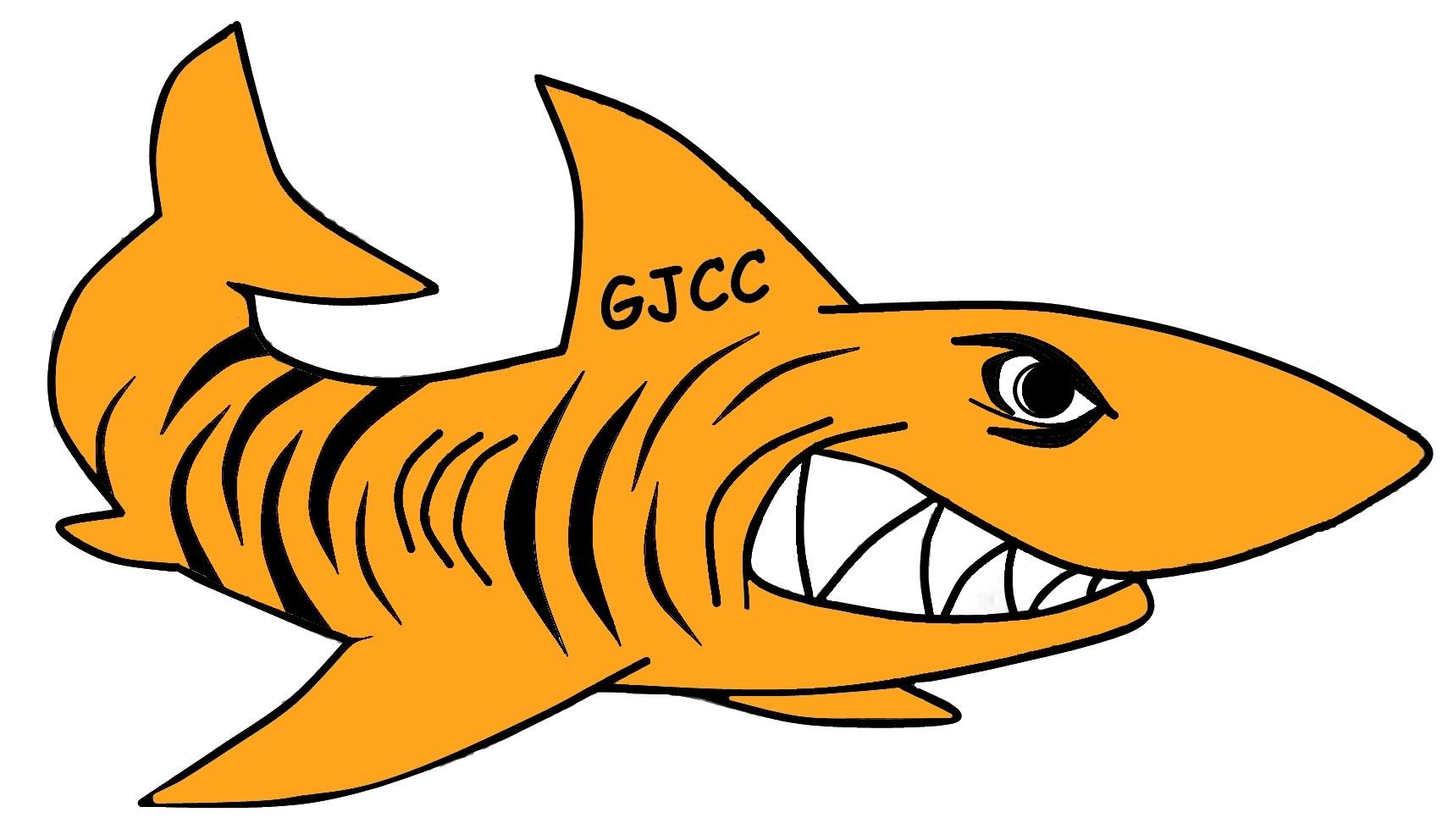 Tiger Shark clipart orange #7