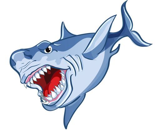 Tiger Shark clipart sea creature #5