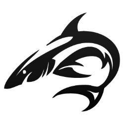 Tiger Shark clipart tribal #7