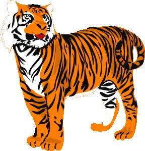 Tigres clipart Art Tigre04 Clip clip com