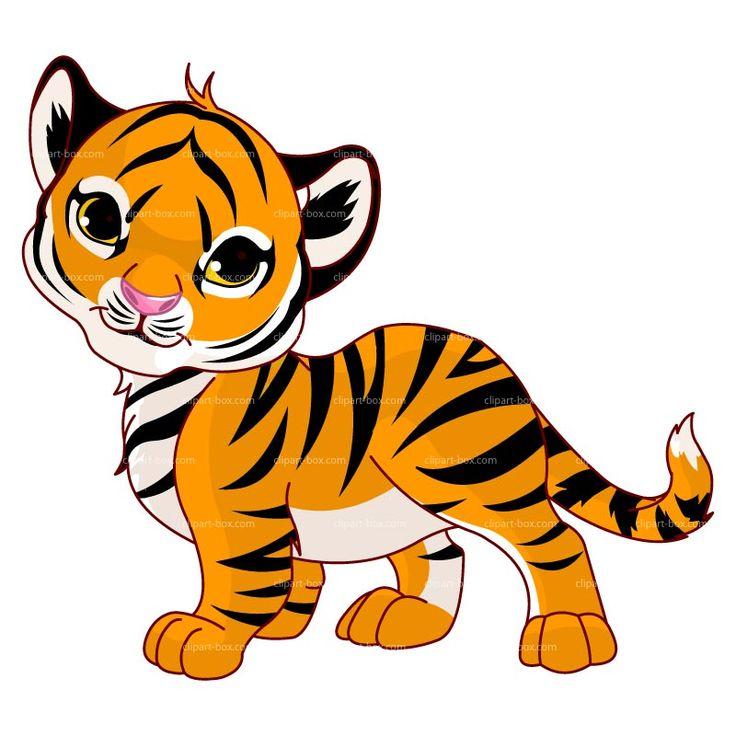 Tigres clipart Art Clipart Pinterest Clip Cartoon