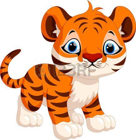 Tigres clipart adorable #10