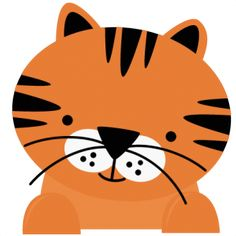 Tigres clipart adorable #7