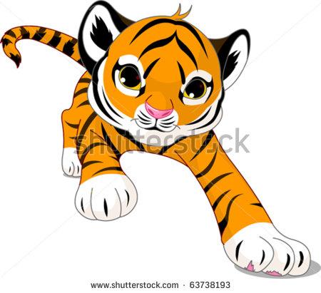 Tigres clipart adorable #4