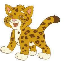 Tigres clipart baby cheetah #11