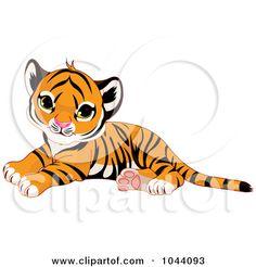 Tigres clipart baby cheetah #8