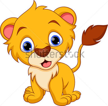 Tigres clipart baby lion #15