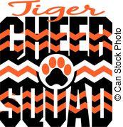 Tigres clipart cheerleading #8