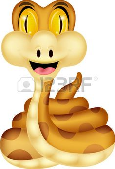 Tigres clipart cute baby snake #15