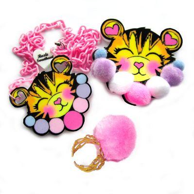 Tigres clipart kawaii #8