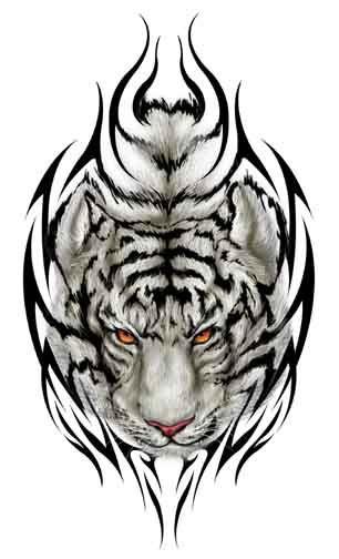 Tigres clipart mean #13