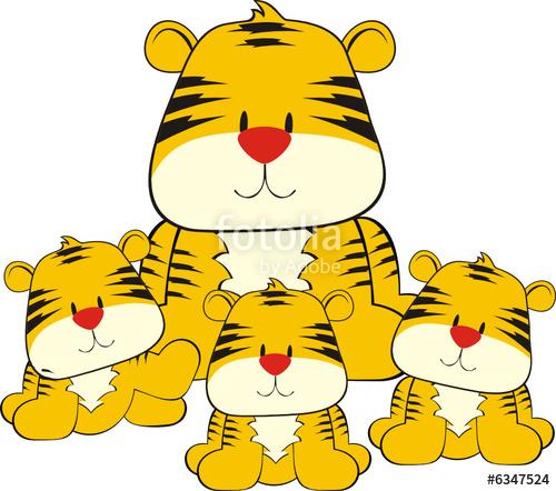 Tigres clipart smiling #5