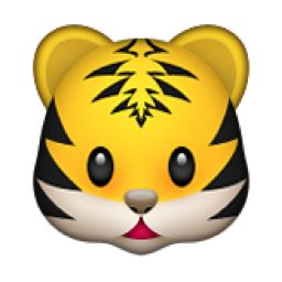 Tigres clipart smiling #8