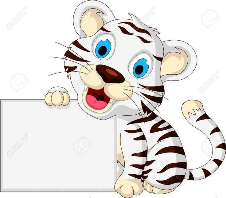 Tigres clipart swimming #6