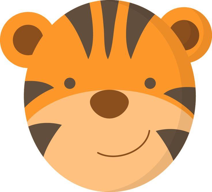 Tigres clipart swimming #2