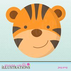 Tigres clipart zoo animal #11