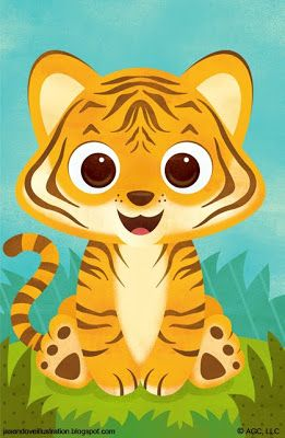 Tigres clipart zoo animal #14