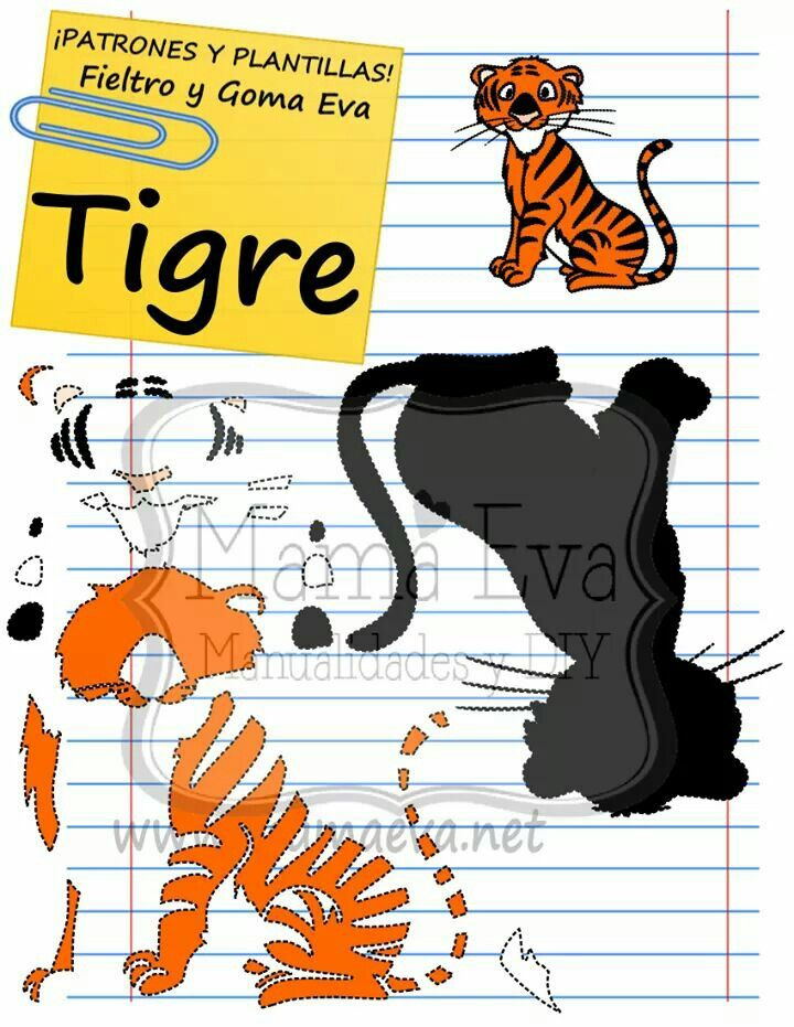 Tigres clipart zoo animal #5