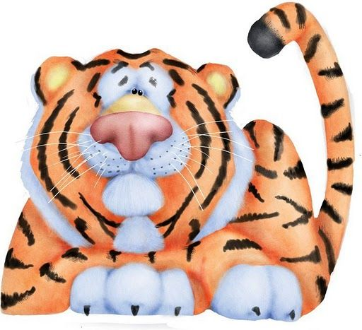 Tigres clipart zoo animal #8