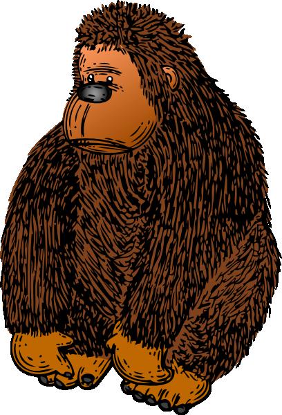 Tiiger clipart baby gorilla #13