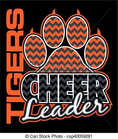 Tigres clipart cheerleading #2