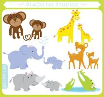Tiger clipart mother and baby #13