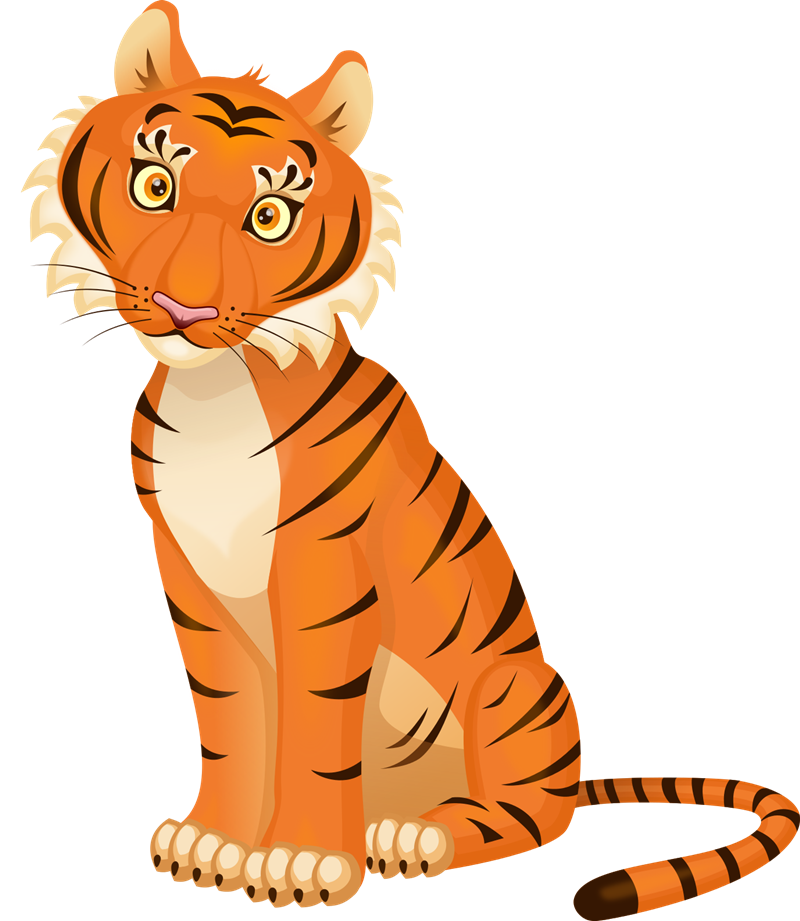 Tiiger clipart tigar #1