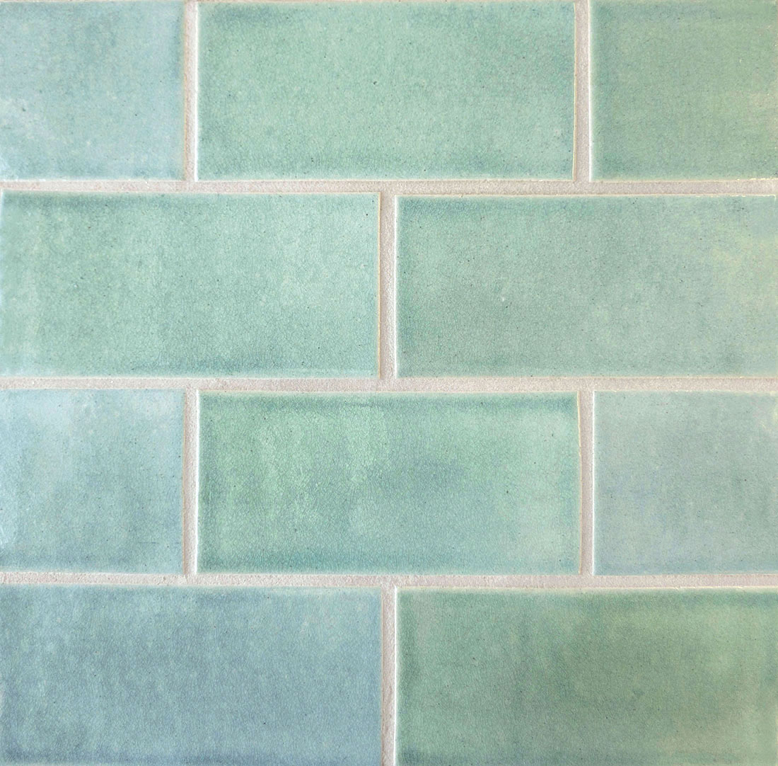 Tiles clipart aqua green  Subway Tile Field &