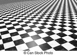 Tiles clipart black and white Tiles of floor Illustrations and
