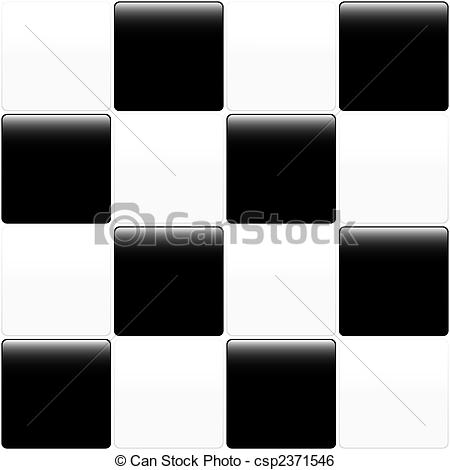 Tiles clipart black and white And Clip and white white